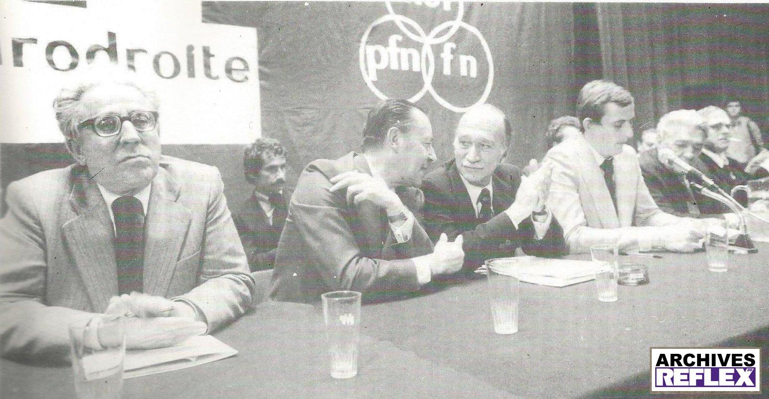 Meeting de l'Eurodroite 1978