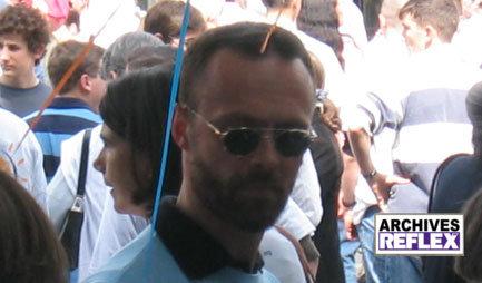 Hervé Van Laethem à la Life Parade à Paris en 2005