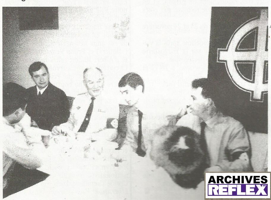 Michel Faci, Claude Cornilleau et Eric Sausset
