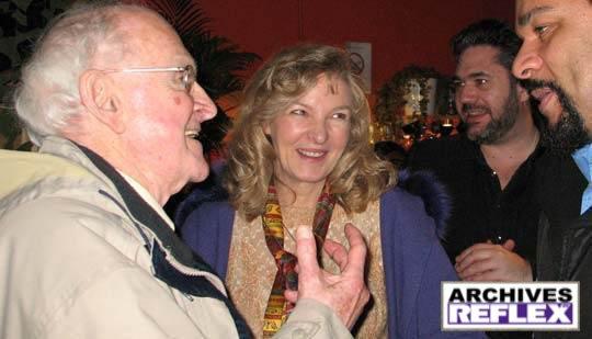 Robert Faurisson, Michele Renouf, Paul-Eric Blanrue & Dieudonné