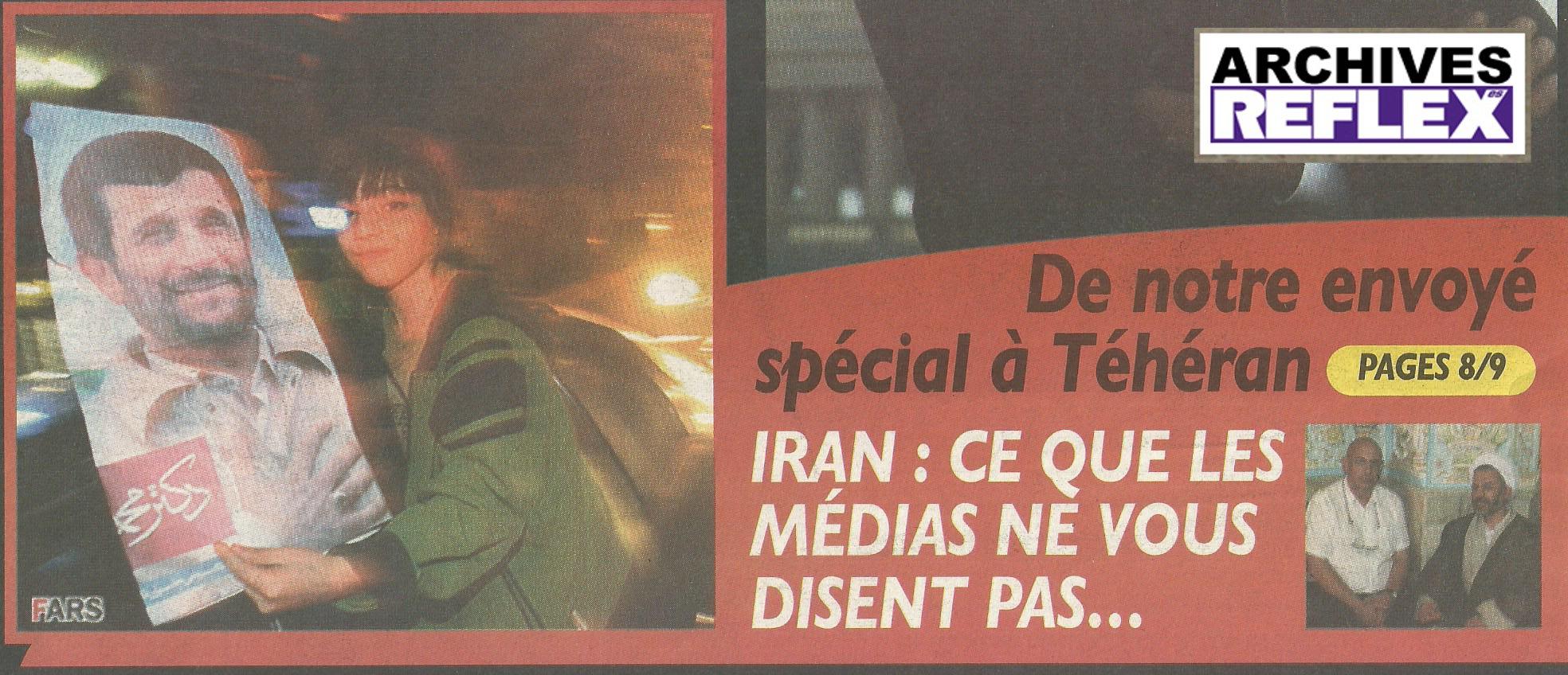 Christian bouchet dans Flash n° 21 du 27 août 2009