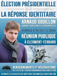 affiche_Arnaud_Gouillon_presidentilles