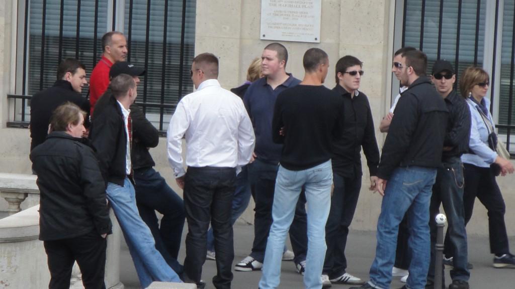 Alexandre Gabriac et sa petite bande