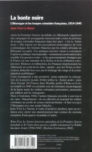 La honte noire(2)