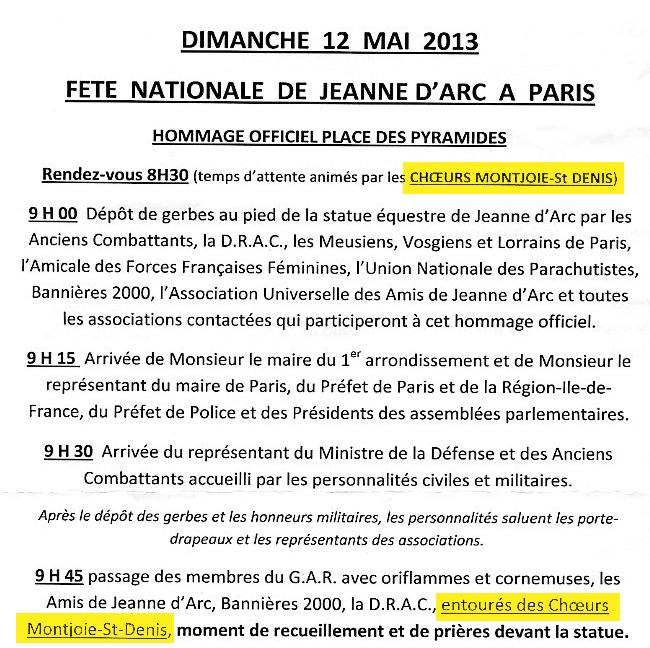 Déjà pas de première jeunesse dans les années 1990, les Chœurs Montjoie Saint-Denis reprennent du service pour le 12 mai de cette année