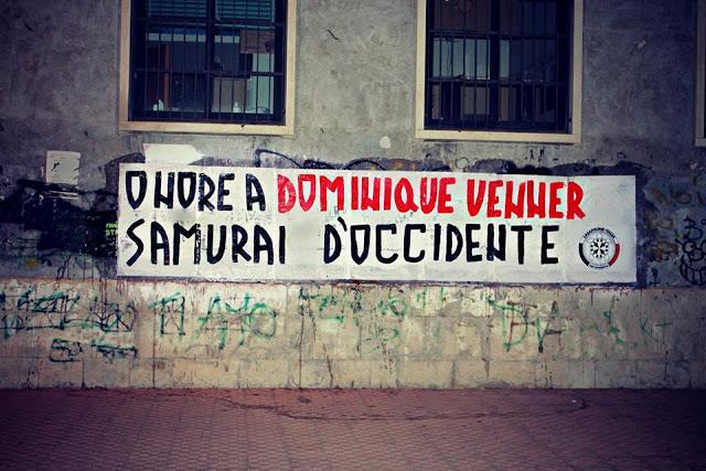 Hommage à Venner en Italie par les militants de Casapound