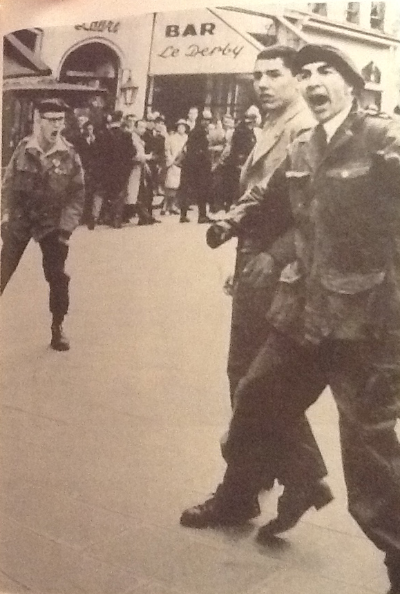 Dominique Venner est à gauche sur la photo (document tiré du livre Génération Occident)