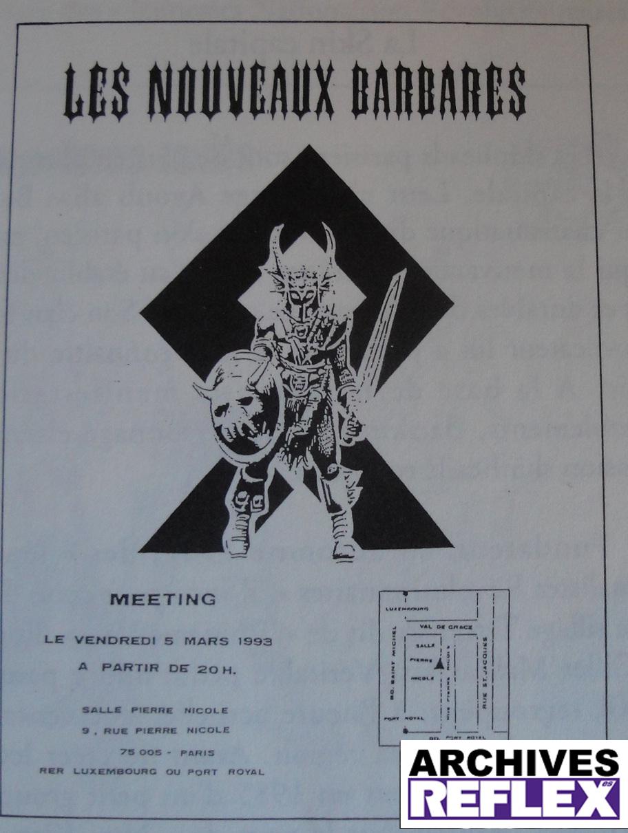 Initialement prévu à Paris, le meeting sera interdit et se déroulera finalement dans un pavillon de banlieue