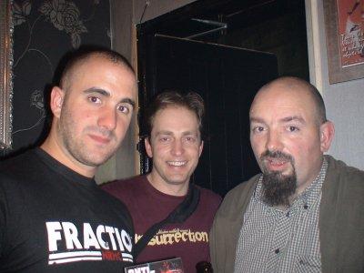 """Pierre-Louis """"Lapin"""" à gauche et Paul Thore à droite"""
