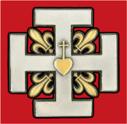 La Sainte Croix de Riaumont, emblème de l'Institut Sainte-Croix de Riaumont et de son mouvement scout